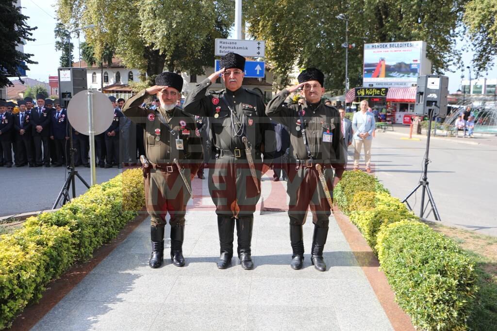 Hendek'te Gaziler Günü Kutlaması Yapıldı