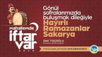 Sakarya Büyükşehir Belediyesi İftar Programı