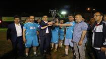 Hendek Kaymakamlığı Futbol Turnuvası Şampiyonu Dikmen Hazal Emlak