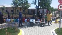 Hendek Yeniyüzyıl İlkokulu Trafik Parkı İlk Misafirlerini Ağırladı