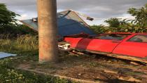 Çağlayan Yolunda Trafik Kazası