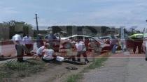 Hendek D-100 Karayolunda Trafik Kazası 2 Yaralı