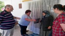CHP Hendek Şehit Ve Gazi Yakınlarını Ziyaret Etti