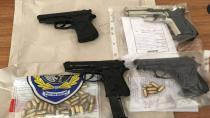Hendek Emniyet Bayramda Çok Sayıda Silah Yakaladı