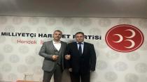 MHP Hendek'te Devir Teslim Yapıldı