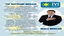 İYİ Parti Hendek Belediye Başkan Adayı İnş.Müh. Ahmet MERCAN Tıp Bayramını Kutladı